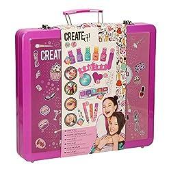 Create It! schminkset mit Koffer 31 x 28 x 5 cm