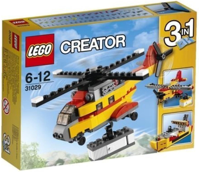 venta directa de fábrica LEGO Creator Cochego Heli Helicopter 3 Set Assemble Assemble Assemble Juguetes 31029 Japan by LEGO  te hará satisfecho