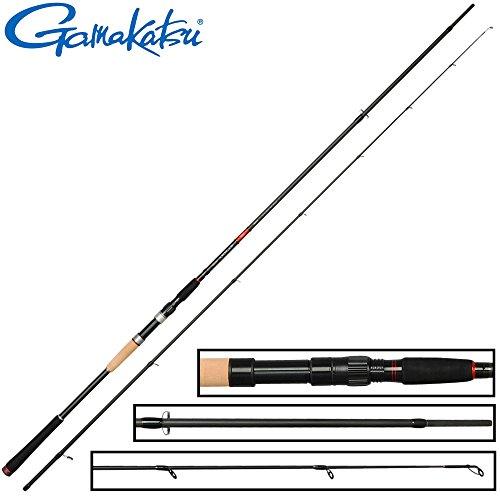 Gamakatsu Akilas 100XXH 3m 25-80g - Spinnrute zum Hechtangeln & Zanderangeln, Angelrute zum Spinnangeln, Hechtrute, Jigrute