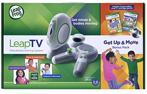 LeapFrog LeapTV Educational Gaming System einschließlich 2 ...