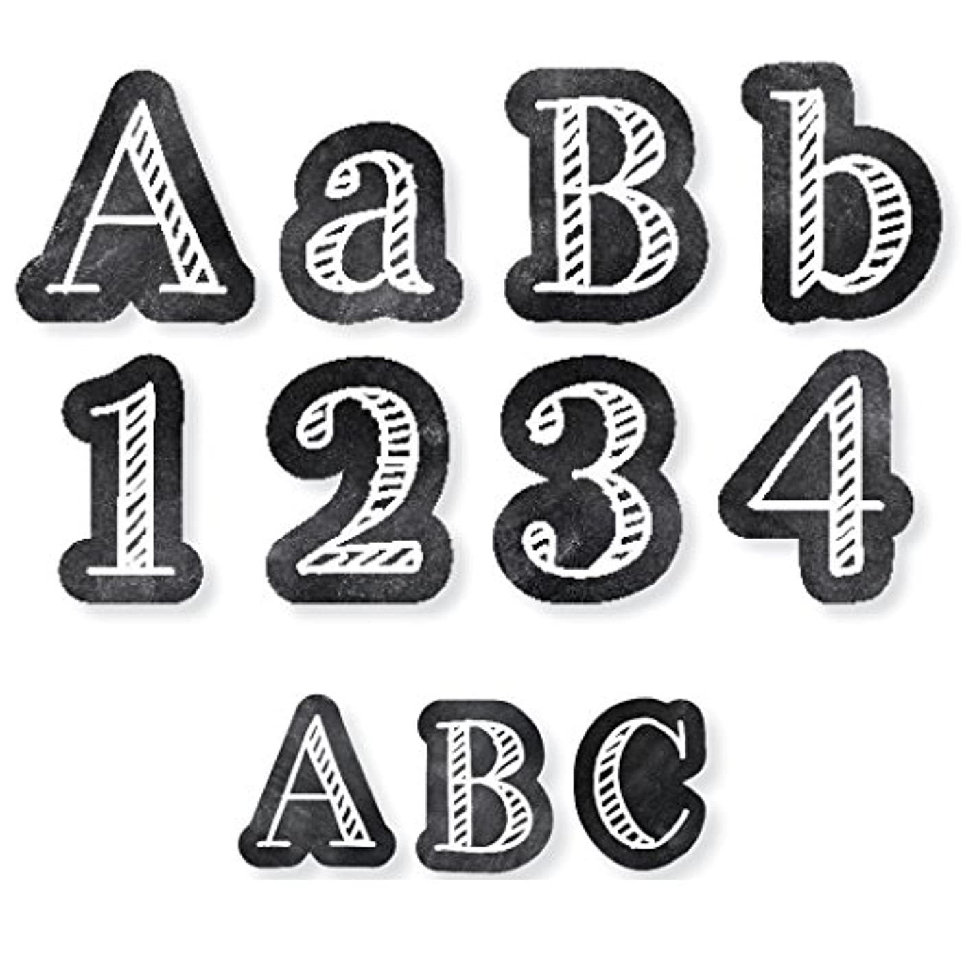 Creative Teaching Press CTP8913 Chalk It Up! Letters Pack: 4