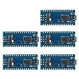 XCSOURCE Juego de 5pcs Tarjeta Micro Controlador Mini USB Nano V3.0 ATmega328P 5V 16M para Arduino TE359