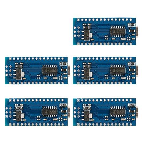 XCSOURCE 5stk Mini USB Nano V3.0 Atmega 328P 5V 16M Mikro Controller Board F Arduino TE359