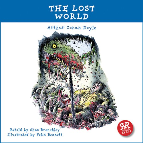 The Lost World audiobook cover art