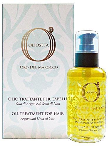 OLIOSETA Maroc Or le traitement de 100 ml d'huile. - conditionneur de cheveux