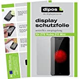 dipos I 6X Schutzfolie matt kompatibel mit ZTE Nubia Z11 Mini Folie Bildschirmschutzfolie