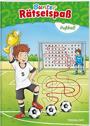 Bunter Rätselspaß Fußball (Rätsel, Spaß, Spiele)