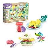 Super Green- Kit de Picnic de plastilina orgánica (Canal Toys Eco 008)