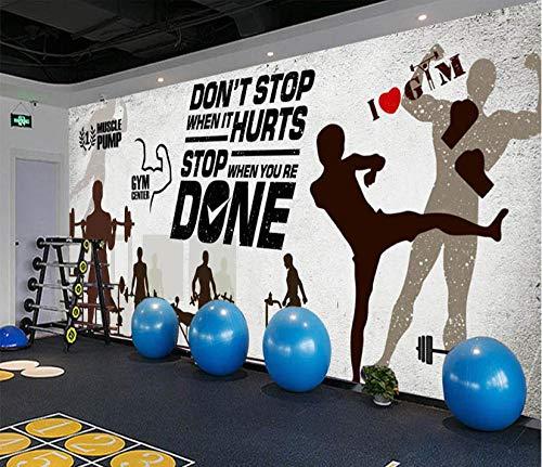Wandtapete Vliestapete Wandbilder Poster Nostalgische Retro Sport Fitness Club Bild Wand Hintergrund Foto Tapete @ 350 * 245 Cm