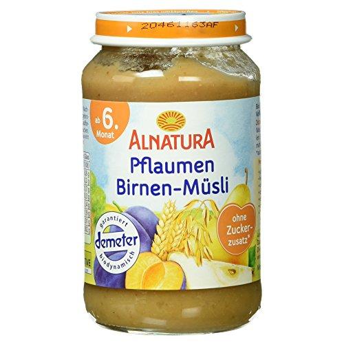 Alnatura Bio Pflaumen-Birnen-Müsli, 190 g