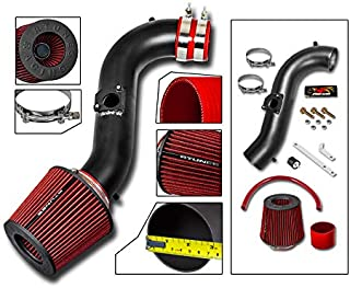 RTUNES RACING - BLACK - SHORT RAM INTAKE Compatible For 1999-2005 LEXUS IS300 3.0L V6