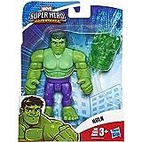 Playskool Heroes Marvel Super Hero Adventures Hulk, 12 cm große Actionfigur mit Accessoire zum Sammeln, für Kinder ab 3 Jahren