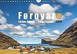 Føroyar . Faroe Islands . Färöer Inseln (Wandkalender 2019 DIN A4 quer): Føroyar . Faroe Islands . Färöer Inseln (Monatskalender, 14 Seiten )