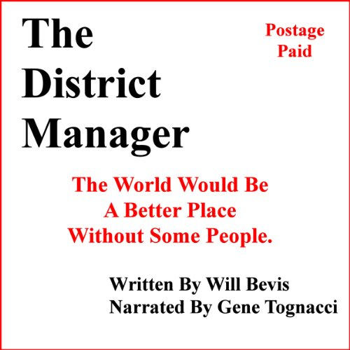 The District Manager audiobook cover art