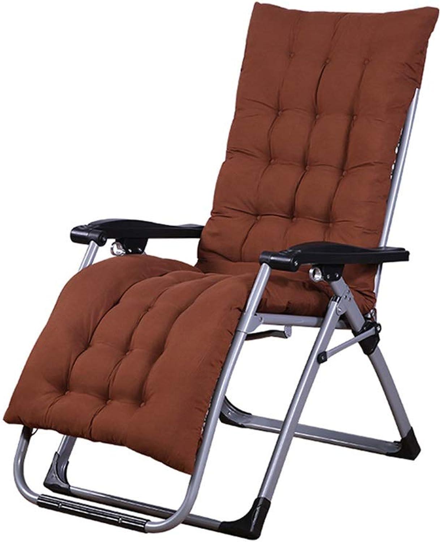 Multifunctional Portable Folding Chair, Sun Lounger, Office Lunch Chair, Chair, Sofa, Folding Chair, Thick Cotton pad SAN_Y