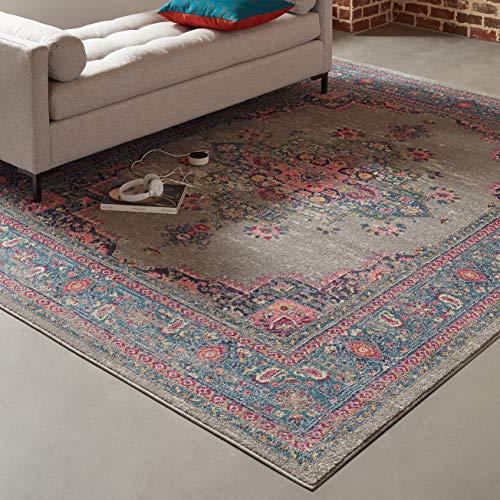 Eine Marke von Amazon - Movian Osam - Rechteckiger Teppich, 304,8x243,8cm (L x B), Geometrisches Muster
