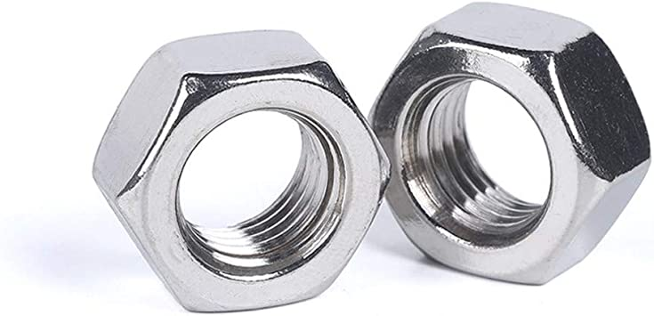 50 x M2 Hex full nut A2 STAINLESS STEEL 50 pieces