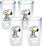 Tervis Peanuts Snoopy and Woodstock Tumbler, 16-Ounce, Clear, No Lid - 1140876