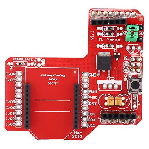 XBee Zigbee Shield RF-Modul, XBee Zigbee-Erweiterungskarte Drahtloses Datenübertragungsmodul für Arduino UNO Duemilanove Mega1280 Mega2560
