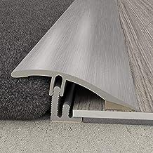 Overgangsprofiel 38 x 10,23 mm | aluminium profiel 2 in 1 | overgangslijst compensatieprofiel eindprofiel hoogtecompensati...