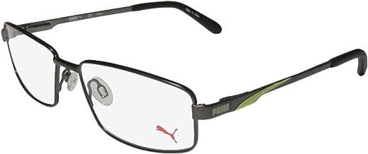Puma 15408 For Men Flexible Hinges TIGHT-FIT Designed for Running/Gym/Sports Activities Eyeglasses/Eyeglass Frame