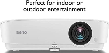 BenQ MH535FHD 1080P Home Theater Projector | 3600 Lumens for Lights on Enjoyment | High Contrast Ratio for Darker Blacks| Keystone and 1.2x Zoom for Flexible Setup | 3D