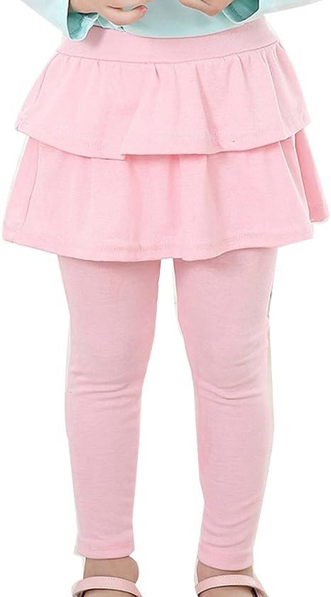 Nina Leggins Leggings Pantalones De Lapiz Con Falda De Ninas Falda Guapa De Ballet Amazon Es Deportes Y Aire Libre