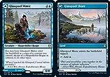 Magic: The Gathering - Glasspool Mimic // Glasspool Shore - Zendikar Rising