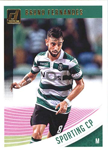 2018-19 Donruss #59 Bruno Fernandes Sporting CP Soccer Card
