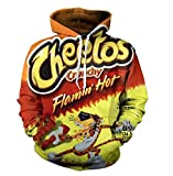 Cheetos 3D Hoodies Men Women Long Sleeve Pullover Sweatshirt Casual All Over Printed Tracksuit NBL10893 5XL
