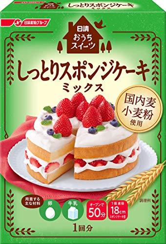 日清 おうちスイーツ しっとりスポンジケーキミックス 200g