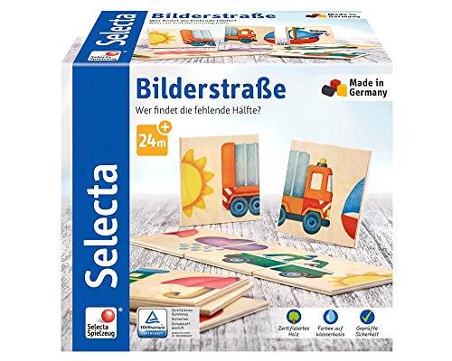 Selecta 62055 Bilderstraße, Legespiel aus Holz