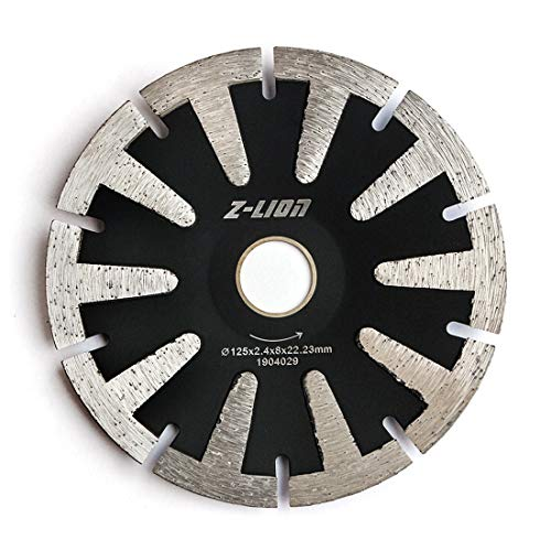 5 Concave Diamond Blade for Granite Marble Concrete Sink Curved Cutting