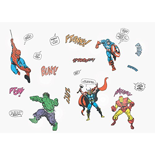 Marvel Small Wall Stickers