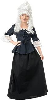 Martha Washington Colonial Girl Child Costume Child Colonial Dress 00255