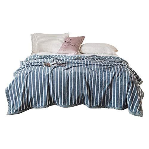 RONGXIE New Pink Stripe Decken Twin Full Queen Fashion Decken Soft Throw Flanelldecken Auf Bett/Auto/Sofa Komfortable Decken Home Camping Bettwäsche