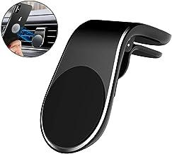 Soporte Móvil Coche, Soporte Teléfono Magnético Universal para Rejillas del Aire Soporte Smartphone Coche para Ventilación para Dispositivo GPS, iPhone X XS 8 Plus Samsung S10 S9 S8, Huawei, Xiaomi