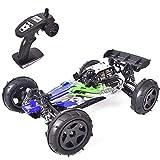 Myste Coche teledirigido todoterreno teledirigido 1:12 2.4G 4WD 50KM/h RC coche de carreras de alta velocidad Drift Auto Buggy juguete con motor, regalo creativo para niños y adultos