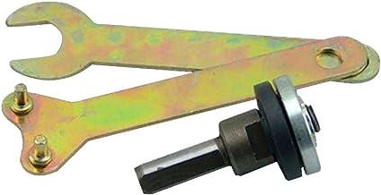 Himen - Adaptador portabrocas de eje – 128 g – Taladro eléctrico amoladora de ángulo variable – Juego convertidor Biela – Manguito acoplador de eje de motor para amoladora angular, 5 unidades