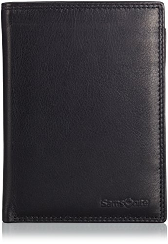 Samsonite 54795/1041 Special SLG - Wallet Leather - Credit Card Münzbörse, Schwarz