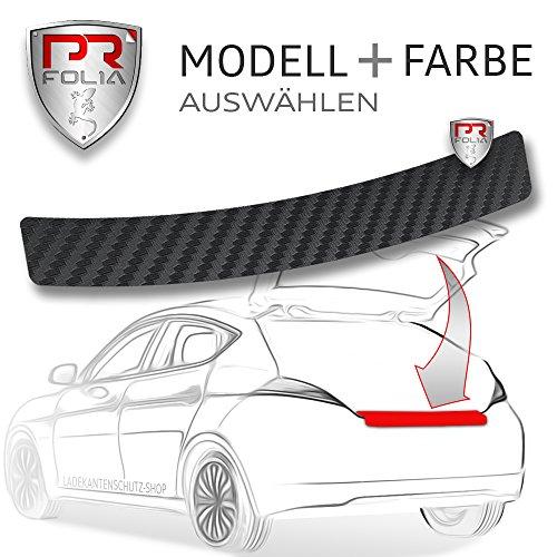 PR-Folia Ladekantenschutz für Golf Sportsvan (ab BJ 04/2014) - CARBON Schutzfolie Stoßstangenschutz Folie Autofolie