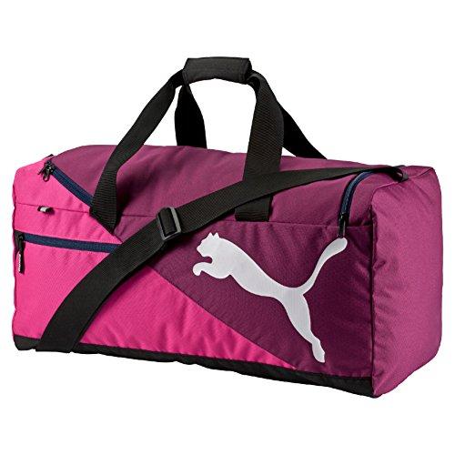 PUMA Fundamentals Sports Bag Size M magenta purple/fuchsia Purple–26.5x 17.5x 31cm, capacity 54l, 07339509