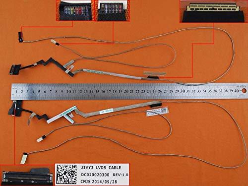 Kompatibel für LENOVO IdeaPad Y70 Y70-70 Displaykabel Bildschirm Screen Video LED Cable