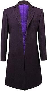 Mens Purple Coat Jacket Cosplay Costume