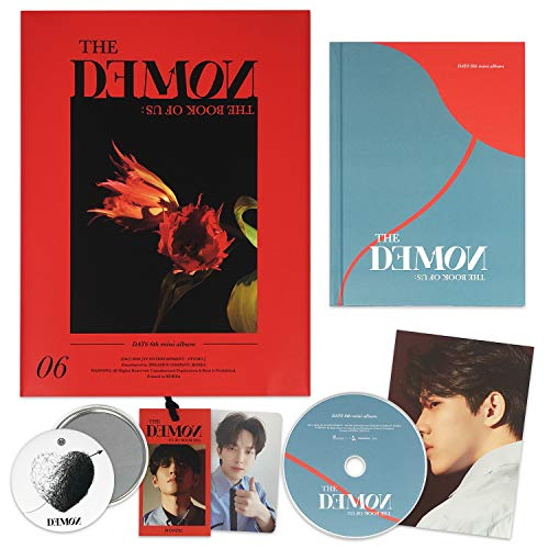 DAY6 6th Mini Album - The Book Of Us : The Demon [ MIDDAY ver. ] CD + Photobook + Photocard + Lyric Card + Bookmark + FREE GIFT