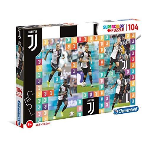 Clementoni- Juventus FC Puzzle, Multicolore, bambini 104 pezzi, 27133