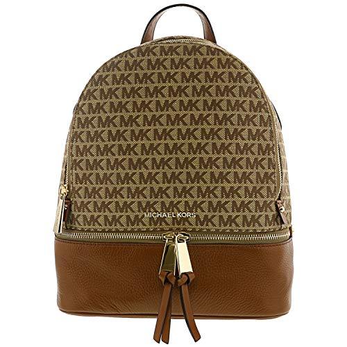 MICHAEL Michael Kors Rhea Zip Medium Backpack (Natural/Cream)
