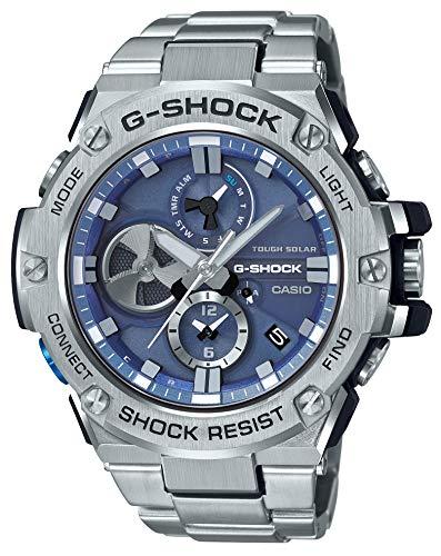 [カシオ] 腕時計 ジーショック G-STEEL スマートフォン リンク GST-B100D-2AJF メンズ シルバー