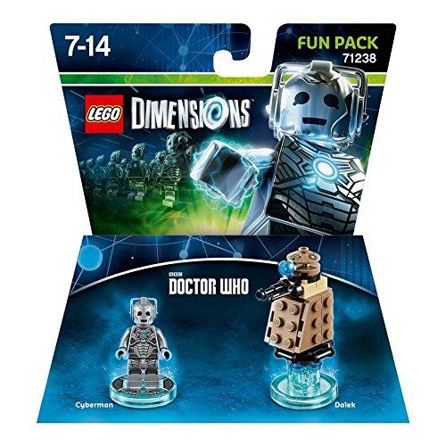 LEGO Dimensions Cyberman Fun Pack 40pieza(s) Juego de construcción - Juegos  de construcción (7 año(s), 40 Pieza(s), 14 año(s)): Amazon.es: Juguetes y  juegos