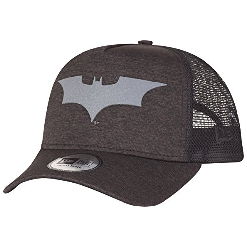 New Era Concrete jrsy Trck Batman Cap Linie Batman, Unisex Erwachsene, Mehrfarbig (Dunkelgrau )